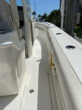 - 15 Stbd side deck looking fwd