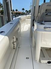 - 17 Port side deck looking fwd
