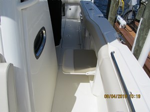 - 18 Port side deck looking aft