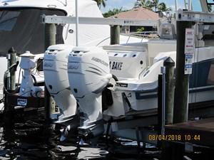 - 30 Twin White Verado engines