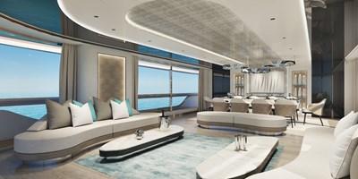 Mistral 41 ALU Hull # 2 20 Atlante Yachts  Mistral 41 salon standard 2