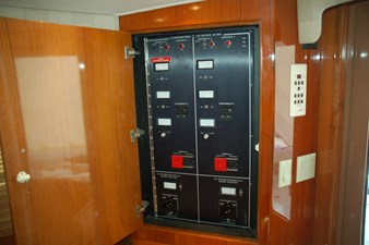 DITCH DIGGER 30 Main Electrical Panel in Salon