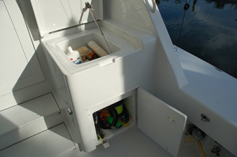 DITCH DIGGER 49 Cockpit Center Storage
