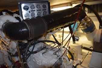 DITCH DIGGER 55 Engine Room CAT Gauge Panels