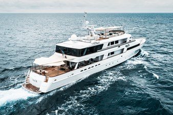 1989/2018 Benetti 151 MY Lady S 3 profile, starboard aft deck