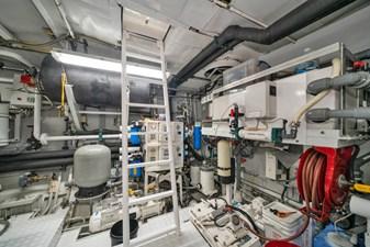 1989/2018 Benetti 151 MY Lady S 47 engine room