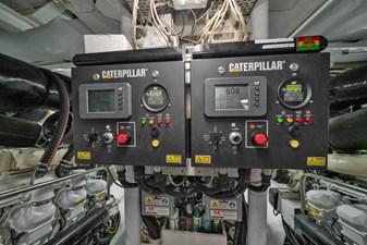 1989/2018 Benetti 151 MY Lady S 50 engine room