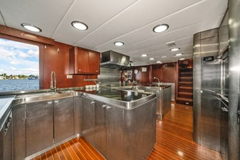1989/2018 Benetti 151 MY Lady S 24 galley