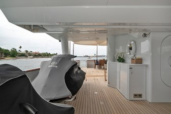 1989/2018 Benetti 151 MY Lady S 10 main deck, waverunners