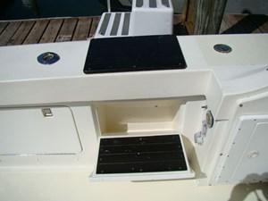 Cara Mia II 9 9. Portside Fold-Out Boarding Steps