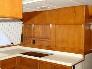 Cara Mia II 20 20. Galley Cabinets