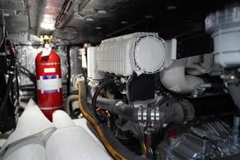 ELLA 23 Engine Room