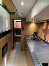 Marlow 23 Galley looking to twin cabin