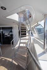 Nina Lu 73 2011 Westport 130 - Nina Lu - Pilothouse Deck to Skylounge