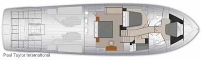 Maritimo M70 8 M 70 Lower Deck Layout