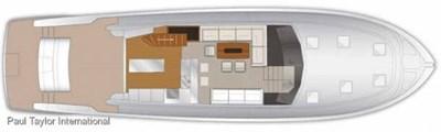 Maritimo M70 9 M 70 Main Deck Layout