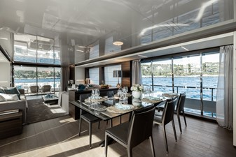 MAREA 42 Main Deck Dining