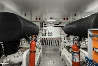 MAREA 71 Engine Room