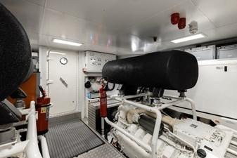 MAREA 72 Engine Room