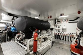 MAREA 73 Engine Room