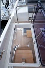 BEBA 28 Stairway to Aft Deck