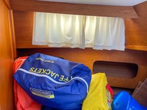 Gabbiano Azzuro 52 51 Forward berth sail bags