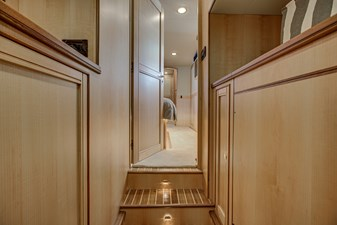 Grace 26 Laundry Room Facing Master Stateroom