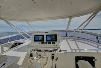 Grace 44 Flybridge Facing Forward