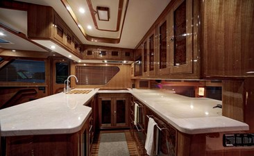 Gammon 24 Galley Looking Stbd