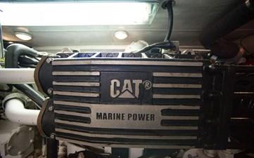Gammon 38 Engine Room