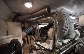 Gammon 36 Port Engine