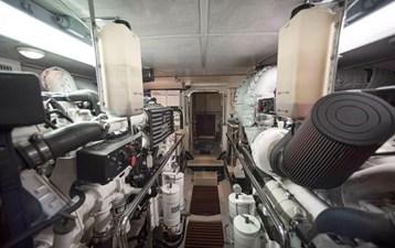 Gammon 39 Engine room
