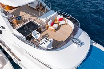 KELLY ANN 40 Sun Deck Aerial