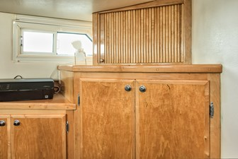 Branches 49 47 Master Stateroom Locker and TV Cabinet