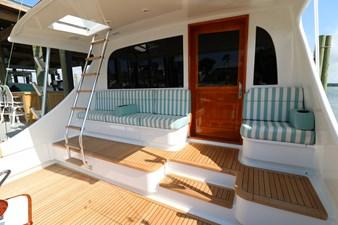 Sea Paver 23 Cockpit