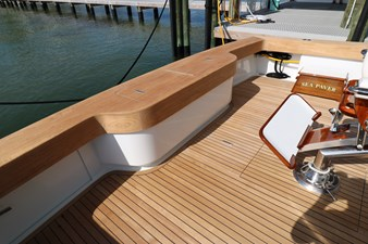 Sea Paver 24 Cockpit