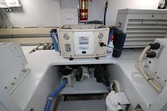 Sea Paver 38 Engine Room