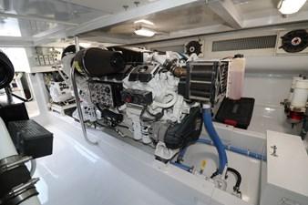 Sea Paver 43 Engine Room