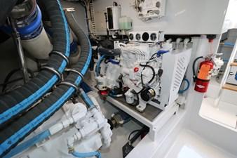Sea Paver 45 Engine Room