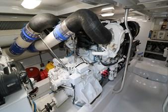 Sea Paver 46 Engine Room