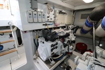 Sea Paver 47 Engine Room