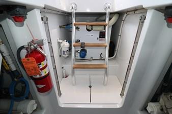 Sea Paver 48 Engine Room