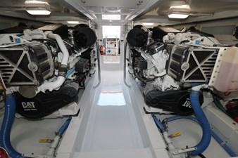 Sea Paver 50 Engine Room
