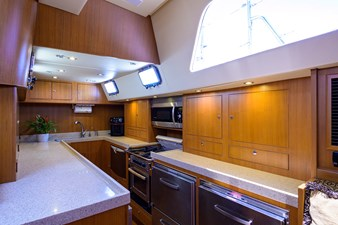THE ROYAL BLUE 7 Galley