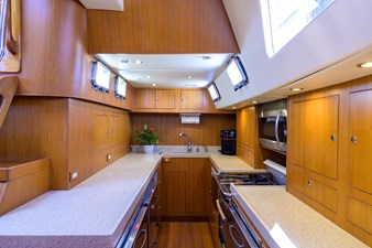 THE ROYAL BLUE 8 Galley