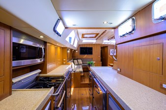 THE ROYAL BLUE 9 Galley