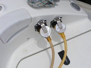 Mucho Gusto 20 Shore Power Receptacles