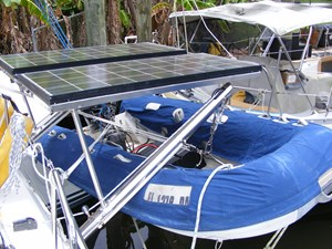Mucho Gusto 22 Tender and Solar Pane;s