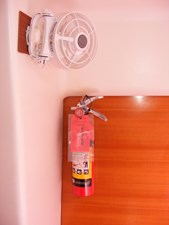Mucho Gusto 45 VIP Fan And Extinguisher