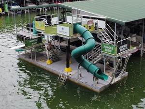 Jungle Float Tarzan Boat 12 x 34 Mobile Water Park 1 GOPR6076